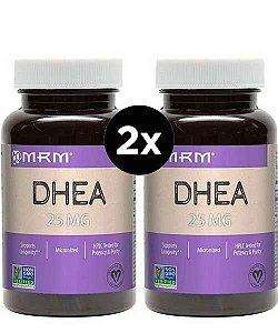 2X DHEA 25mg Micronizada - MRM - 60 Capsulas