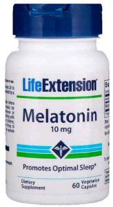 Melatonina Life Extension - 10 mg - 60 cápsulas