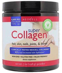 Super Colágeno, Neocell, Tipo 1 e 3, 7 oz (198 g)