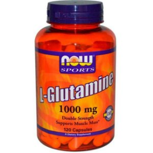 L-glutamina, Now Foods, 1,000mg, 120 Cápsulas