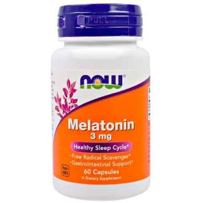 Melatonina 3mg - Now Foods - 60 cápsulas