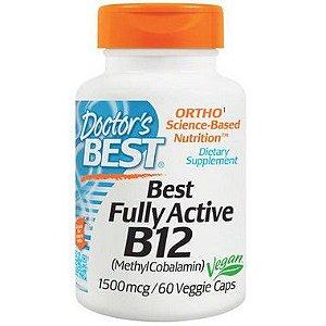 Vitamina B12 - Doctor's Best - 1500mcg - 60 Cápsulas