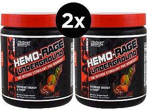 2X Pré Treino Hemo-Rage, Nutrex, 30 Porções