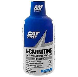 GAT, L-Carnitina, Aminoácido na Forma Sem Líquidos, Framboesas Azuis