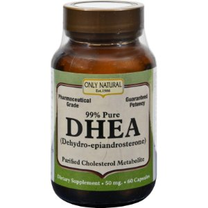 DHEA, Only Natural, 60 Cápsulas