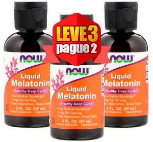 Leve 3 Pague 2 - Melatonina Liquida 3mg (60 ml) - Now Foods