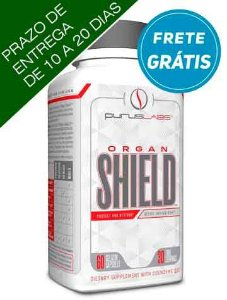 Purus Labs Organ Shield 60 cápsulas de gelatina