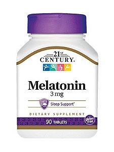 Melatonina 3mg - 21st century - 90 comprimidos