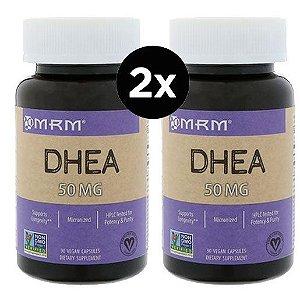 2X DHEA MICRONIZADA - 50 mg - MRM - 90 cápsulas