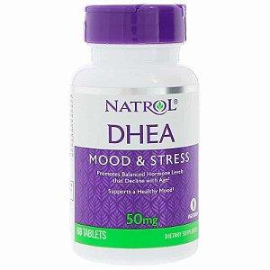 DHEA Natrol 50mg, 60 comprimidos