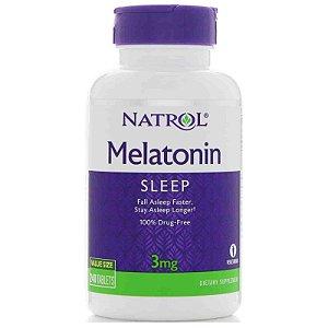 Melatonina 3mg - Natrol - 240 comprimidos - Frete Grátis
