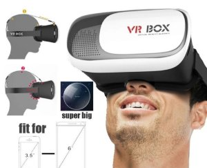 Óculos de Realidade Virtual VR BOX V2.0