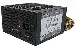 Fonte WiseCase 500W - WS-500W-1X12
