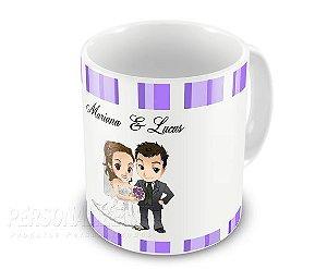 Caneca personalizada Padrinhos Madrinhas Casamento