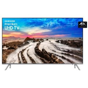 Tv 65 Polegadas Samsung Led 4K Smart Wifi Usb Hdmi - Un65Mu7000Gxzd