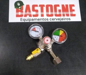 Regulador de pressão Co2 1 via