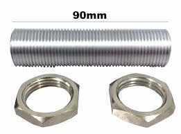 Prolongador para chopeira rosca 5/8 9cm