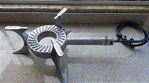 Fogareiro De Aluminio Caga Fogo