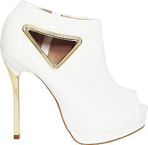 Ankle Boot Verniz splendor Le Bianco 551