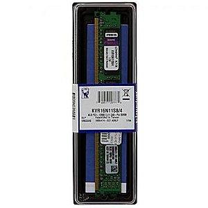 MEMORIA DDR3 4GB  1600MHZ  KINGSTON