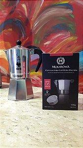 Cápsula Mokaroma para Cafeteira Moka/Italiana 6 xícaras