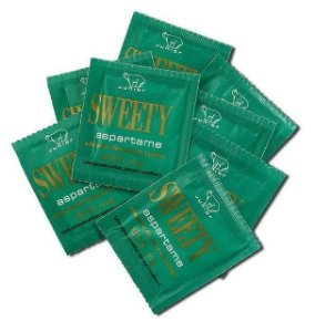 Adoçante em sachê SWEETY - Caixa com 1.000 sachês