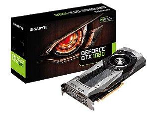 PLACA DE VIDEO GTX1080 8GB DDR5X PCI-E GIGABYTE GV-N1080D5X-8GD B