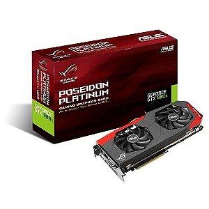 PLACA DE VIDEO ASUS GTX980TI 6GB POSEIDON ASUS DDR5 90YV08L0-M0NA00
