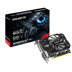 PLACA DE VIDEO R7 360 2GB DDR5 OC PCI-E GIGABYTE GV-R736OC-2GD REV2.0