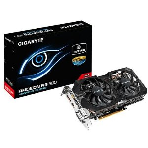 PLACA DE VIDEO R9 380 4GB DDR5 WINDFORCE 2X PCI-E GIGABYTE GV-R938WF2-4GD