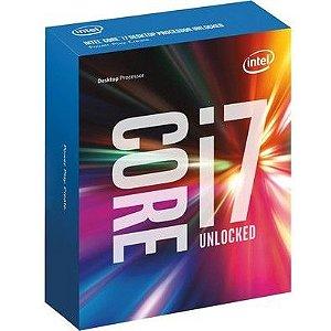 Processador Intel Core i7-6700K, Cache 8MB, Skylake 6a Geração, Quad-Core 4.0GHz LGA 1151 BX80662I76700K