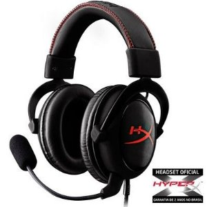 HEADSET KINGSTON HYPERX CLOUD KHX-HSCC PRETO