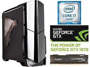 COMPUTADOR UNYGAMER CEEFI INTEL CORE 6700K /  GTX 1070 / 16GB DDR4 / HYDRO COOLER / SSD 240 / 1TB HD
