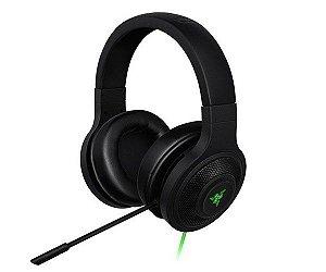 Headset Gamer Razer Kraken USB Black Com Microfone RZ04-01200100-R3U1