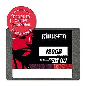 SSD KINGSTON 2.5 120GB V300 SATA III LEITURA 450 MB/S