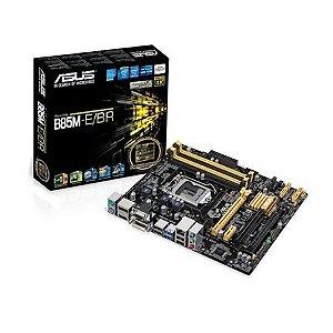 PLACA MÃE LGA1150 ASUS B85M-E BR 32 GB RAM E COM SUPORTE PARA CROSSFIRE