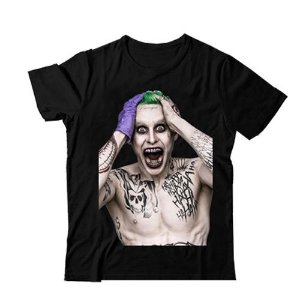 Camiseta Esquadrão Suicida - Coringa