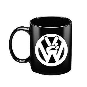 Caneca de porcelana - Volks logo