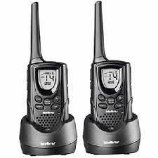 Rádio de Comunicação Twin Intelbras - 9,6 Km c/ Carregadores Bivolt independente