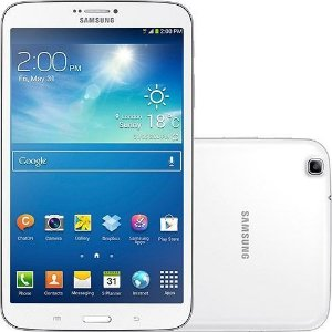 "Tablet Samsung Galaxy TAB 3 T3110 com Android 4.2 Wi-Fi e 3G Tela 8"" Touchscreen Branco e Memória Interna 16GB"