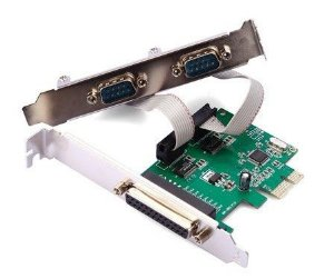 Placa Serial 2 Portas PCI RS232 Db9 Porta Paralela Db25