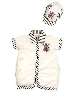 Camiseta Shorts Saia Corinthians Menina Time De Futebol - MVR Store e34e4c6b0ce43