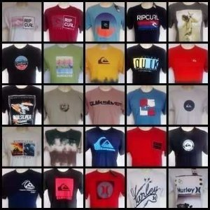 Camiseta Hurley oakley nike oasklen reserva mcd  rip curl adidas  lançamentos  kit 20 pçs