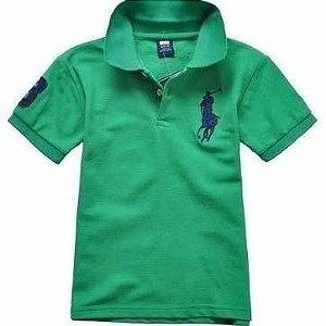 Camisa polo infantil Ralph Lauren hollister Ferrari  lacoste kit 10 pçs
