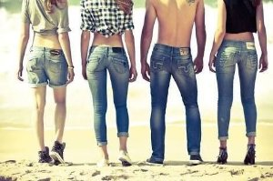 Calca jeans multimarcas feminina