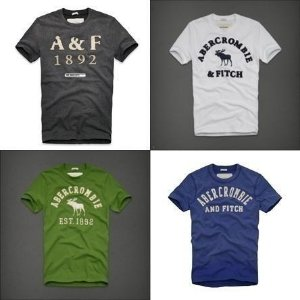 Camisetas Hollister e Abercrombie original kit 10 pçs