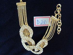 Bijouterias aneis brincos pulseiras colares gargantilhas Lote 130 peças