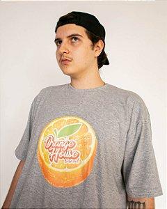 Camiseta Orange House Laranja Fresh Cinza