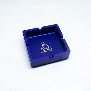 Cinzeiro De Silicone Squadafum Grande Azul