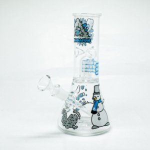 SDF GLASS ICE BONG PERC